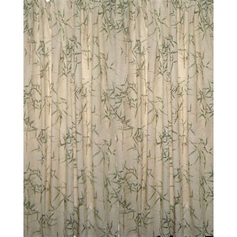 bamboo shower curtains catalog detail tropical bamboo elegant fabric shower curtain
