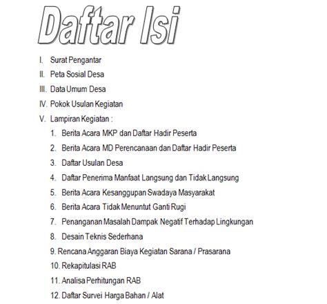 artikel tentang format pdf membuat format daftar isi sisilain net