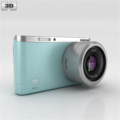 Kamera Digital Samsung Nx Mini samsung nx mini smart mint green 3d model hum3d