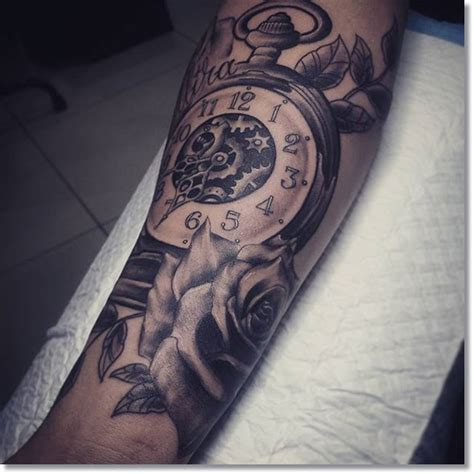 tattoo of us watch hanging pocket watch tattoo www imgkid com the image