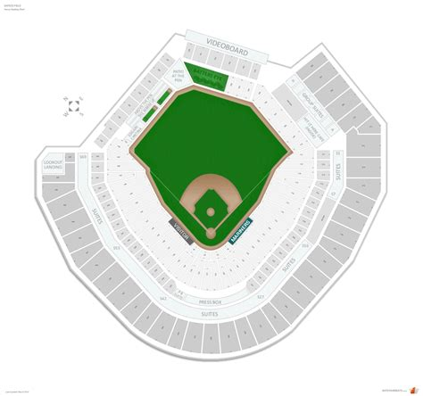 seattle mariners seating guide safeco field