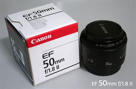 Lensa Canon Ef 50mm F1 8 New canon 50mm 1 8 prime lens clickbd