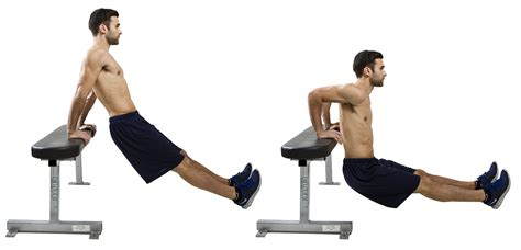 hiit exercise how to do elevated tricep dips hiit
