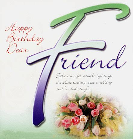 Happy Birthday Friend Cards Happy Birthday Friend Birthday Greeting Cards