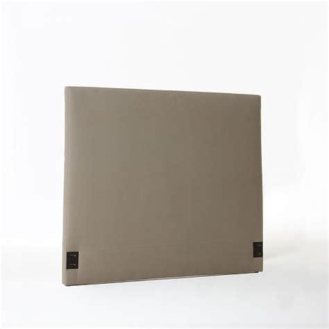 simple upholstered headboard simple upholstered headboard west elm