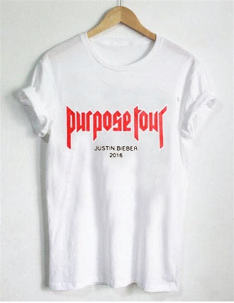 Purpose Tour 2016 purpose tour justin bieber 2016 t shirt size xs s m l xl