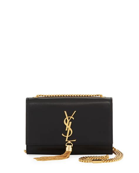 saint laurent kate monogram ysl small tassel shoulder bag