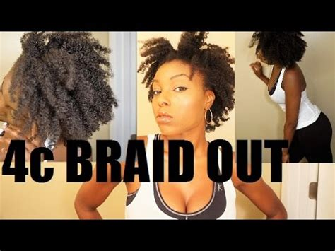 braid out on 4c hair ft cococurls youtube braid out on 4c natural hair youtube