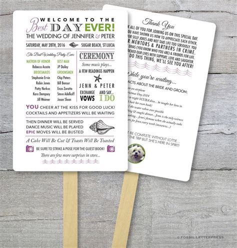 diy wedding program fans diy wedding program fans imgkid com the image kid