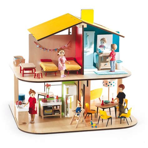 doll house colors color house dolls house djeco toys and hobbies teen children