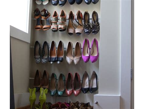 Storage Shoes Organizer Rak Susun Sepatu High Heels Sandal 2 Tingkat 22 diy shoe storage ideas for small spaces diy shoe rack