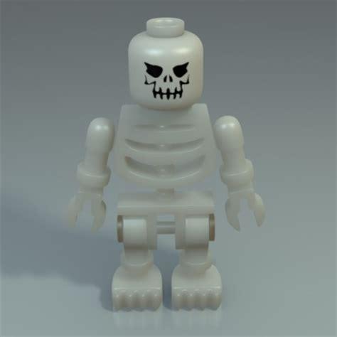Free 3d Software lego skeleton free 3d rigged model rockthe3d