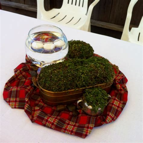 themed party nights scotland scottish irish party centerpiece army pinterest