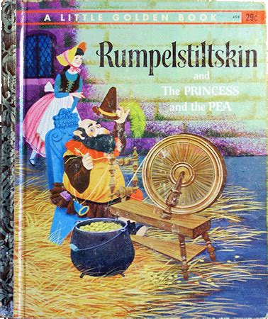 rumpelstiltskin picture book golden books rumpelstiltskin and the princess and