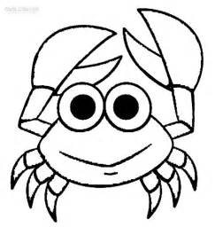 what color are crabs printable crab coloring pages for cool2bkids
