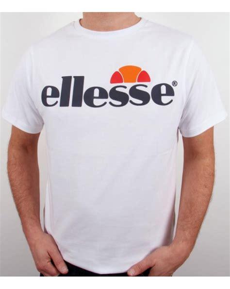 Tshirt Ellesse New One Tshirt ellesse logo t shirt white ellesse mens logo