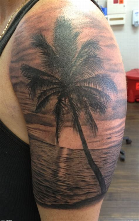 beach tattoos designs sunset search tattoos