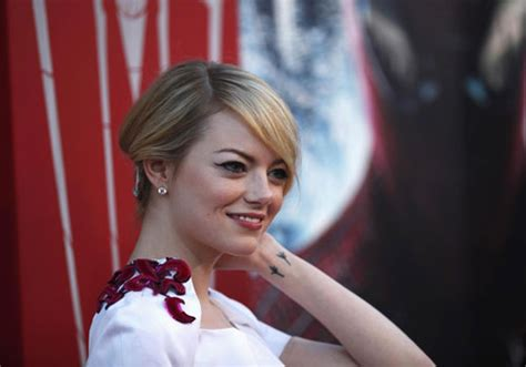 emma stone tattoo 25 great tattoos of creativefan