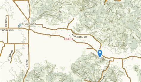brownsville oregon map best trails near brownsville oregon alltrails