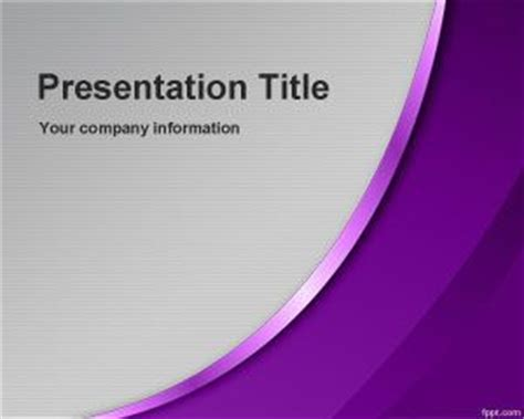 Violet Sublime Powerpoint Template Powerpoint Templates Free Violet