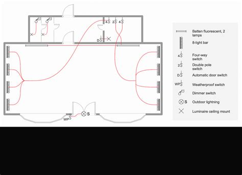 electrical floor plan drawing house electrical plan software electrical diagram