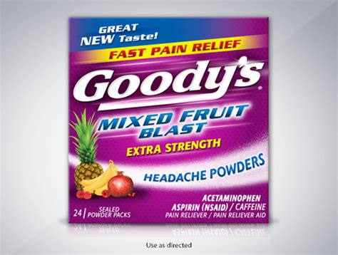 goody s goody s 174 extra strength headache powder