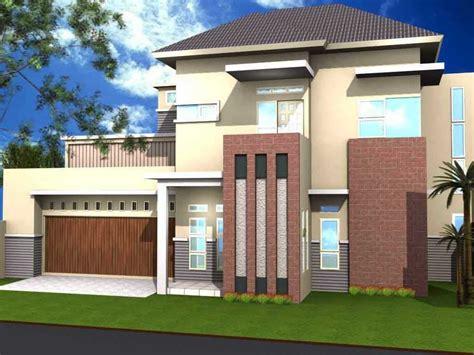 pilihan contoh warna cat rumah bagian depan renovasi