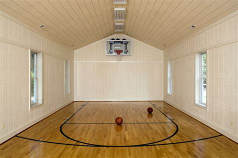 10 basement basketball court ideas 19 modern indoor home basketball courts plans and designs