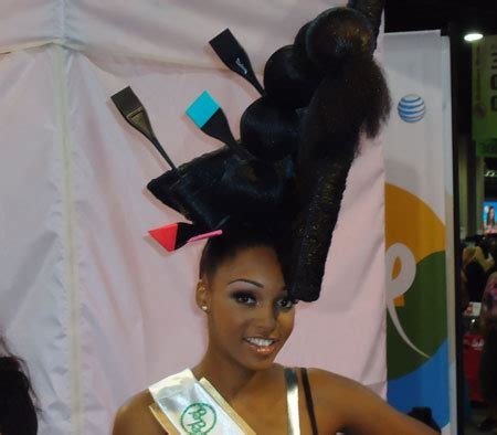 bronner brothers hair model 17 craziest hair show styles