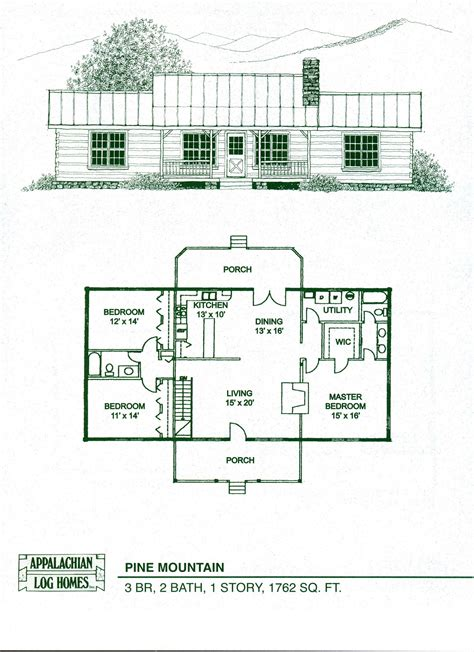 1 bedroom log cabin floor plans log home floor plans cabin kits appalachian homes also 1
