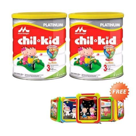 Chil Kid Platinum jual morinaga chil kid platinum moricare madu tahap 3 formula 800 gr promo 2 pack free