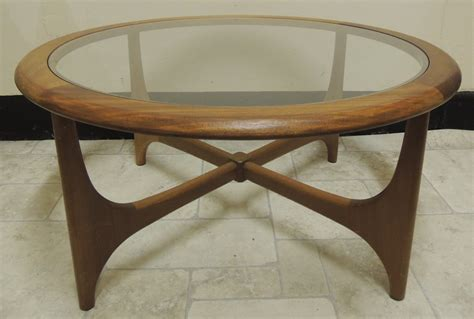 antiques atlas retro nathan glass top coffee table