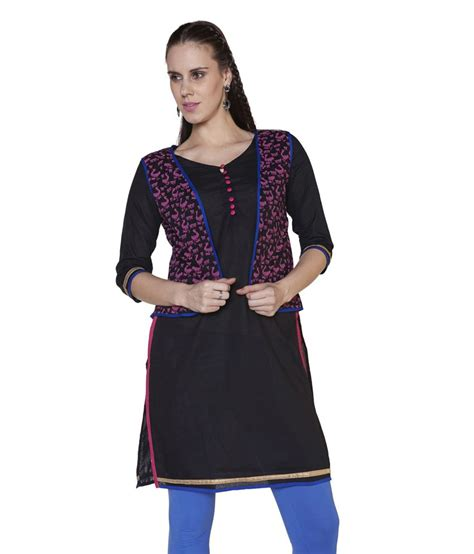 globus pink cotton knitted neck globus black cotton knitted v neck kurti price in india buy globus black cotton knitted v neck