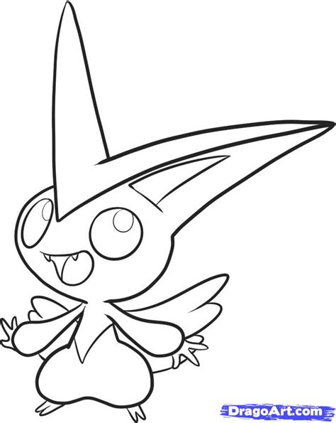 pokemon coloring pages victini victini pokemon colouring pages