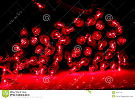 bundle of christmas lights bundle of red lights royalty free stock photos image