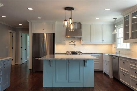 Different Colored Kitchen Cabinets 2016 Kitchen Remodel Cost Estimates And Prices At Fixr