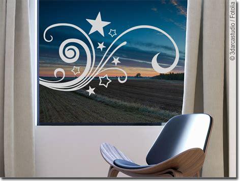 Fensteraufkleber Sterne by Fensteraufkleber Sternenornament Glastattoo Sterne