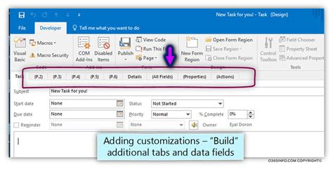 outlook form templates how to create publish organizational forms in office 365