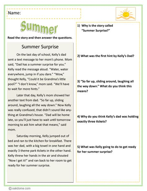 reading comprehension test narrative 3rd grade reading comprehension poems worksheet ixiplay