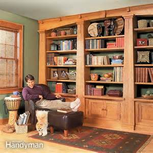 Builtin Bookcases Built In Bookcases The Family Handyman