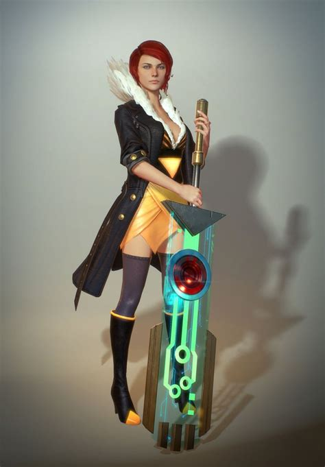 transistor characters top 91 ideas about 3d badassness on cyberpunk and the weeping