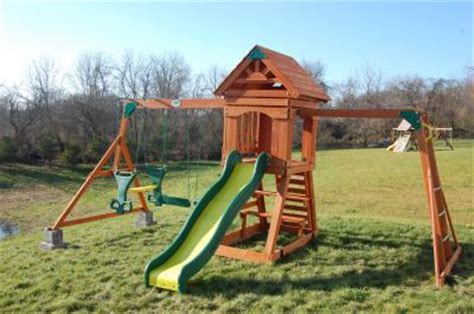 scottsdale swing set backyard discovery scottsdale cedar swing set box 2