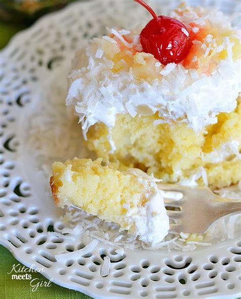pina coconut cake recipe pina colada poke cake recipe pina colada cake coconut