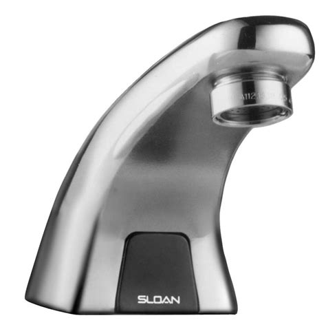 Electronic Lavatory Faucet by Sloan Valves Ebf615 4 Chrome Single Battery Powered