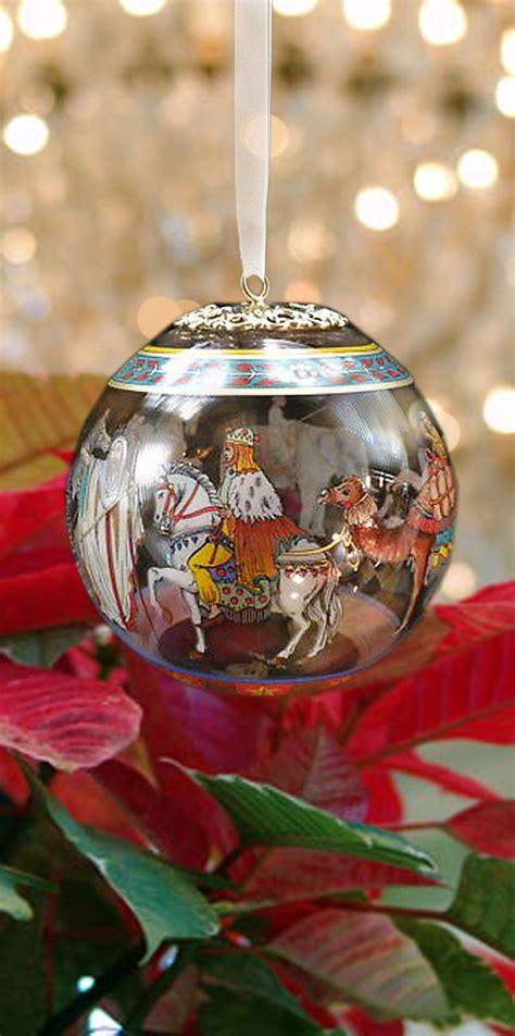 versace rosenthal christmas ornament cortege noel
