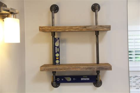 Gas Shelf by Live Edge Wood And Gas Pipe Shelf Page 5 Of 5 A