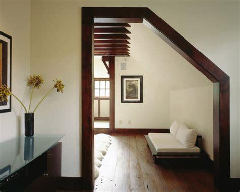 black trim in bedroom dark wood trim through the front door