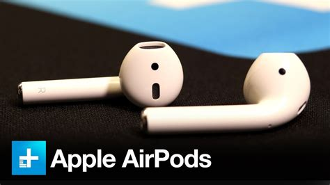apple airpods review apple airpods hands on review youtube