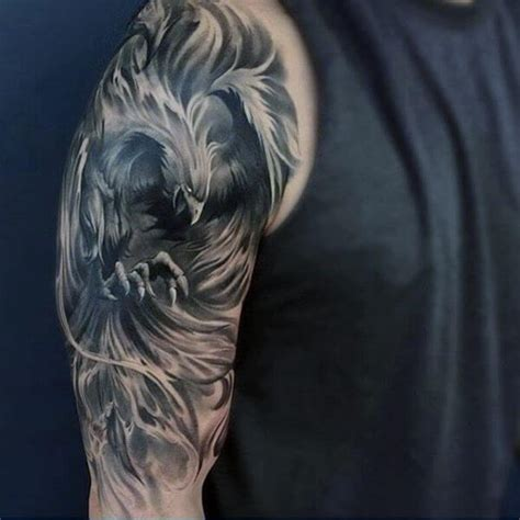 phoenix tattoo men the 80 best half sleeve tattoos for improb