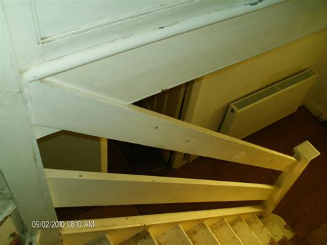 replacing staircase banister carpentry joinery in